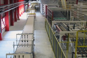 1 Gypsum board production: Efficient, highly automated and continuous production line process