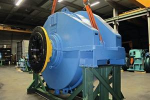 3 Big (38-ton), freshly overhauled planetary stage at Brauer Maschinentechnik AG