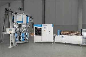 1 Capacity and efficiency of the fillpac can be further increased with the bag placer and the ream magazine