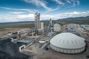 The Ohorongo Cement plant is located in the Namibian region of Otjozondjupa that is rich in limestone. The Schwenk subsidiary produces five cements of different qualities at the location in Sargberg