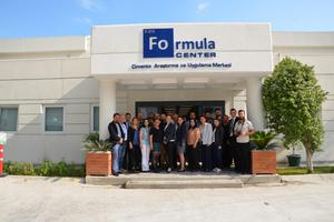 """<div class=""""bildtext_en"""">The opening of Çimsa's R&D Center – <br />the Formula Center</div>"""