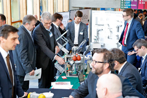 The hands-on workshops at the BetonTage congress are very popular