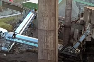 Apeco have ended a project at the Cementa cement plant in Slite, Gotland/Sweden