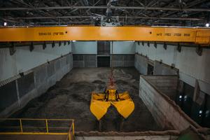 4 RDF storage hall at the Ramla plant