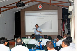 2 Workshops and trainings for cement-plant employees