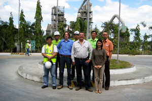3 Ongoing projects all over the world, such as here in the Philippines (left) and in Egypt