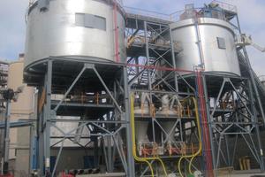 1 Alternative fuels dosing unit at CPV Monjos