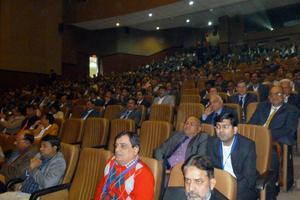 2 The audience in the Zorawar Auditorium