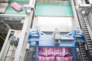 5 For this, Beumer Group installed a Beumer paletpac layer palletiser