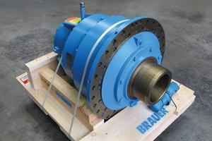 """<div class=""""bildtext_en"""">A gear unit repaired by Brauer</div>"""