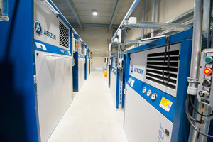 2 At Köhler Kalk in Hesse, a machine park consisting of Delta Hybrid and Delta Blower provides the process air