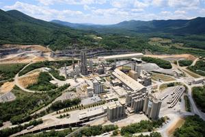 Roanoke cement plant