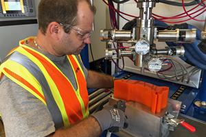 """<div class=""""bildtext_en"""">1 Conveyor belt cleaner blades will be manufactured using Martin's proprietary molding technology</div>"""