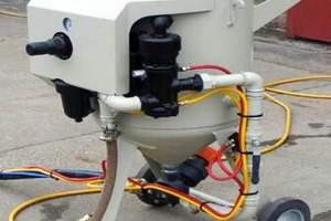 5 Abrasion resistance test apparatus