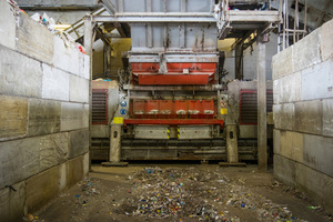 1 The Lindner Meteor stationary primary shredder