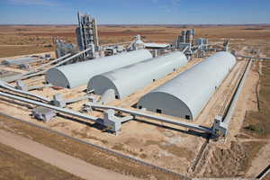 Aganang cement plant in South Africa
