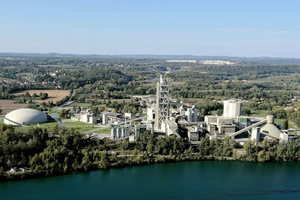 7 Montalieu cement plant in France