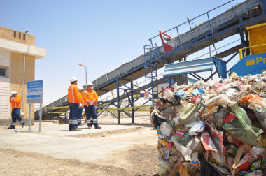 Egypt's waste management platform in Suez