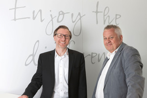 Michael Hünerlage (left) and Harald Schwab, Eberhardt Schwab GmbH