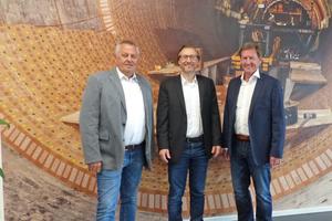 "<span class=""Textmarkierung_rot"">8</span> Harald Schwab, Michael Hünerlage and Klaus Röpke (left to right)"