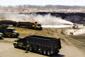 3 DustBoss outdoor suppression covers a wide area in areas with high disruption and traffic