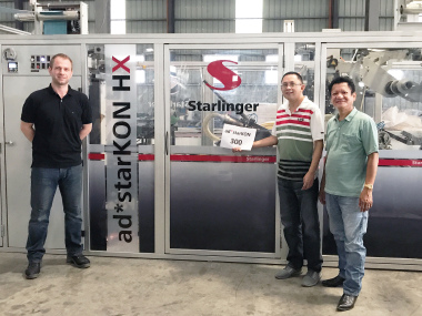 The 300th Starlinger sack conversion line ad*starKON