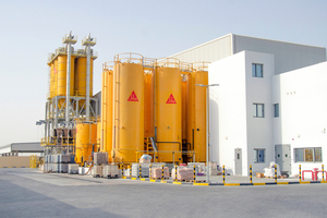 The new Sika plant in Dubai