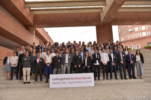 """<div class=""""bildtext_en"""">At the international LafargeHolcim Next Generation Awards Lab hosted by Universidad Iberoamericana (IBERO) in Mexico City 25 countries were represented</div>"""