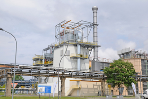 "<div class=""bildtext_en"">In the Schwarze Pumpe Power Plant, Germany, a Loesche Mill type LM 35.3 D is in operation</div>"