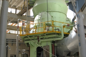A Loesche mill type LM 35.3 D  at Ras-el-Kaimah, U.A.E.