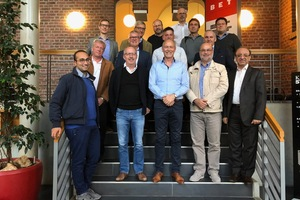 """<div class=""""bildtext_en"""">The participants of the workshop-seminar in the offices of aixergee GmbH in Aachen/Germany</div>"""