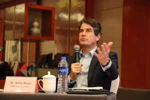 WRA President Stefan Borgas at the General Assembly and Conference on Innovation in Beijing