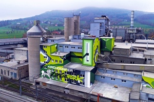 "<div class=""bildtext_en"">1 New landmark near the Kremstal railway: Kirchdorf Cement Plant with colourful graffiti facade</div>"