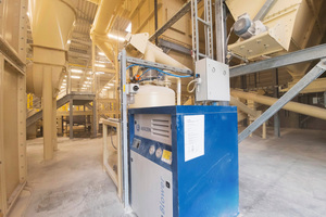 5 Aerzen technology is also used at Knauf, to retransport grinding dust into the raw material preparation