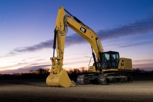 The new Cat Next Generation 336 excavator<br /><br />