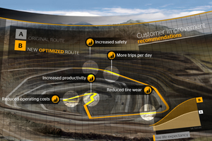 Thanks to the recommendations of the Continental Field Engineers, safety and productivity can be increased while costs and tire wear are reduced<br />