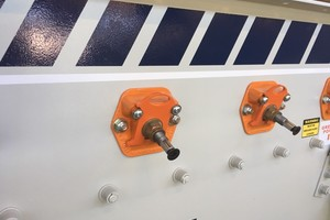 The Haver & Boecker Ty-Rail tension rail system dramatically cuts the time needed to replace screen media<br />