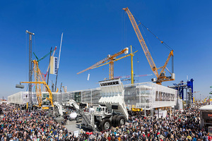 """""""Together. Now &amp; Tomorrow"""" – learning more about the products, innovations and trends in the construction machinery industry<br />"""
