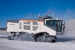The new Wirtgen 220 SM/220 SMi surface miner is extremely versatile<br />