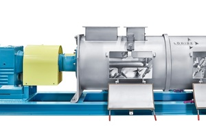 In addition to its exceptional efficiency, part of the sophisticated mixer concept is the universal applicability of the continuous Ploughshare mixer KM<br />