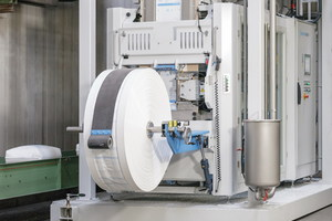 The Beumer fillpac FFS: High throughput, availability and a compact design are key features of the system<br />