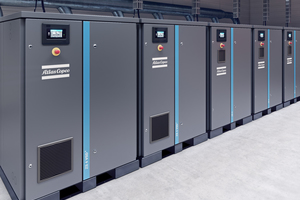 Sample installations with several ZS screw blowers. The ZS 4 VSD+ series is<br />available with ratings from 37 to 90 kW. The units deliver absolutely oil-free air and are designed for gauge pressures up to 1.5 bar<br />