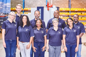 "<div class=""bildtext_en"">1 The team of Haver &amp; Boecker Southern Africa (left to right): Sarina Karstens, Jonas Komitsch, Jade Edas, Norbert Tschudy, Abrisia Maswinyane, Fabian Stuart, Sylvia Landman, Cianne Scheepers, Benoit Yenga  </div>"
