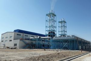 "<div class=""bildtext_en"">Six MAN 18V32/40 engines form the backbone of a power plant that will generate around 54 MW of electrical energy for a new cement plant <br />in Samawa/Iraq</div>"