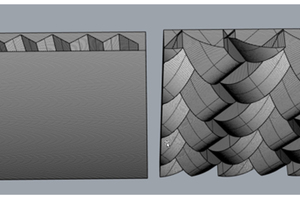 10 Models of the AM double-layer and single-layer wall panels