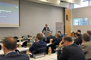 The fourth Building Material Plants Day took place in Frankfurt in March