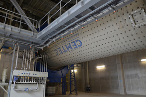 1 A new cement mill was installed