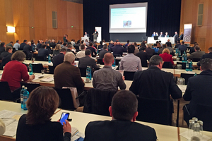 Around 160 attendees were informed about the latest findings from the drymix mortar sector