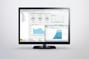 "<div class=""bildtext_en"">The powermanager power monitoring software displays status information and electrical characteristics in a clearly-arranged dashboard and analyzes energy flows</div>"