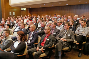 Around 130 representatives gathered at the VDZ Conference on Cement Chemistry 2019 in Duesseldorf/Germany